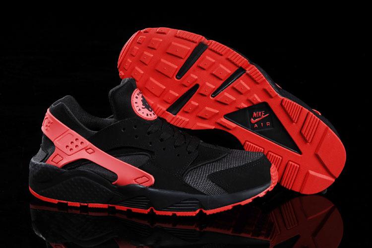 new concept 8b691 ea278 nike huarache noir et rouge pas cher